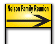Family Reunion Direction Signs