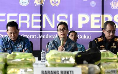 Dirjen Bea Cukai dan BNN Gagalkan Penyelundupan 40 Kilogram Sabu di Aceh
