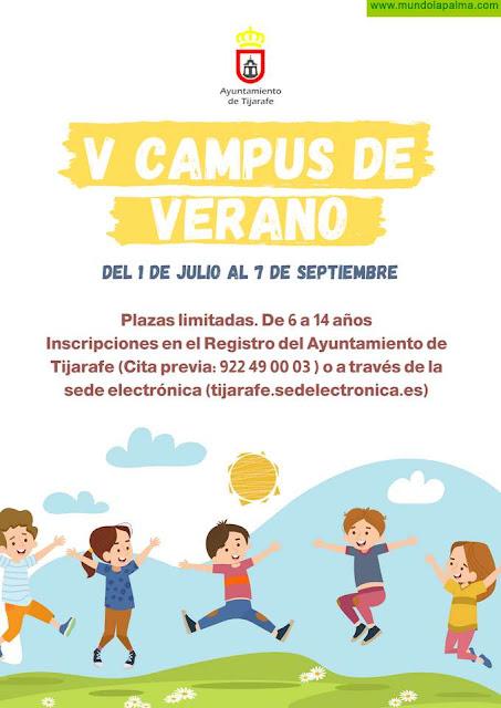 Tijarafe organiza su V Campus de Verano con todas las medidas de seguridad