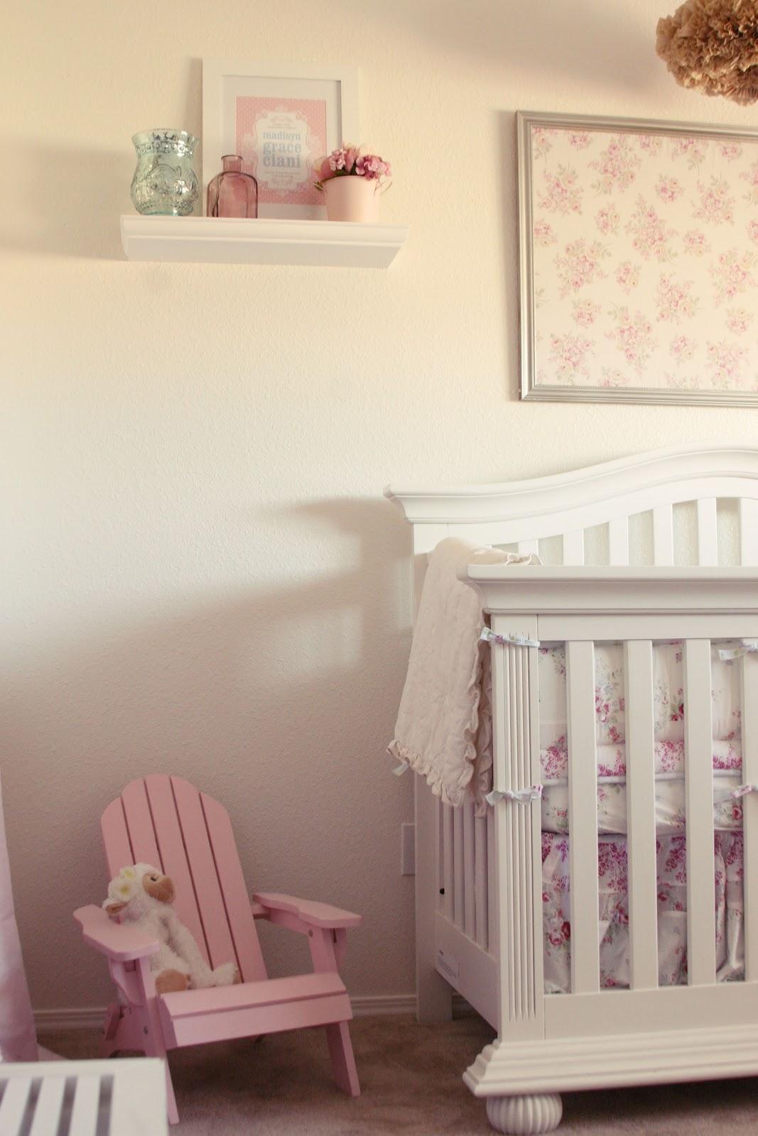 Shabby Chic Baby Nursery