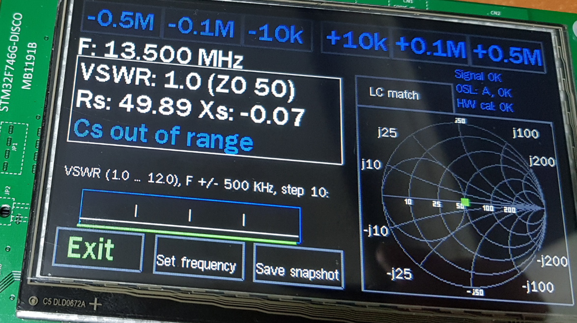1 FAA-450 Antenna Analyzer (EU1KY) Introduction