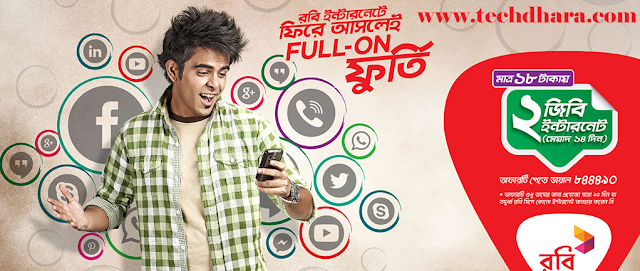 Exiting offer in Robi internet