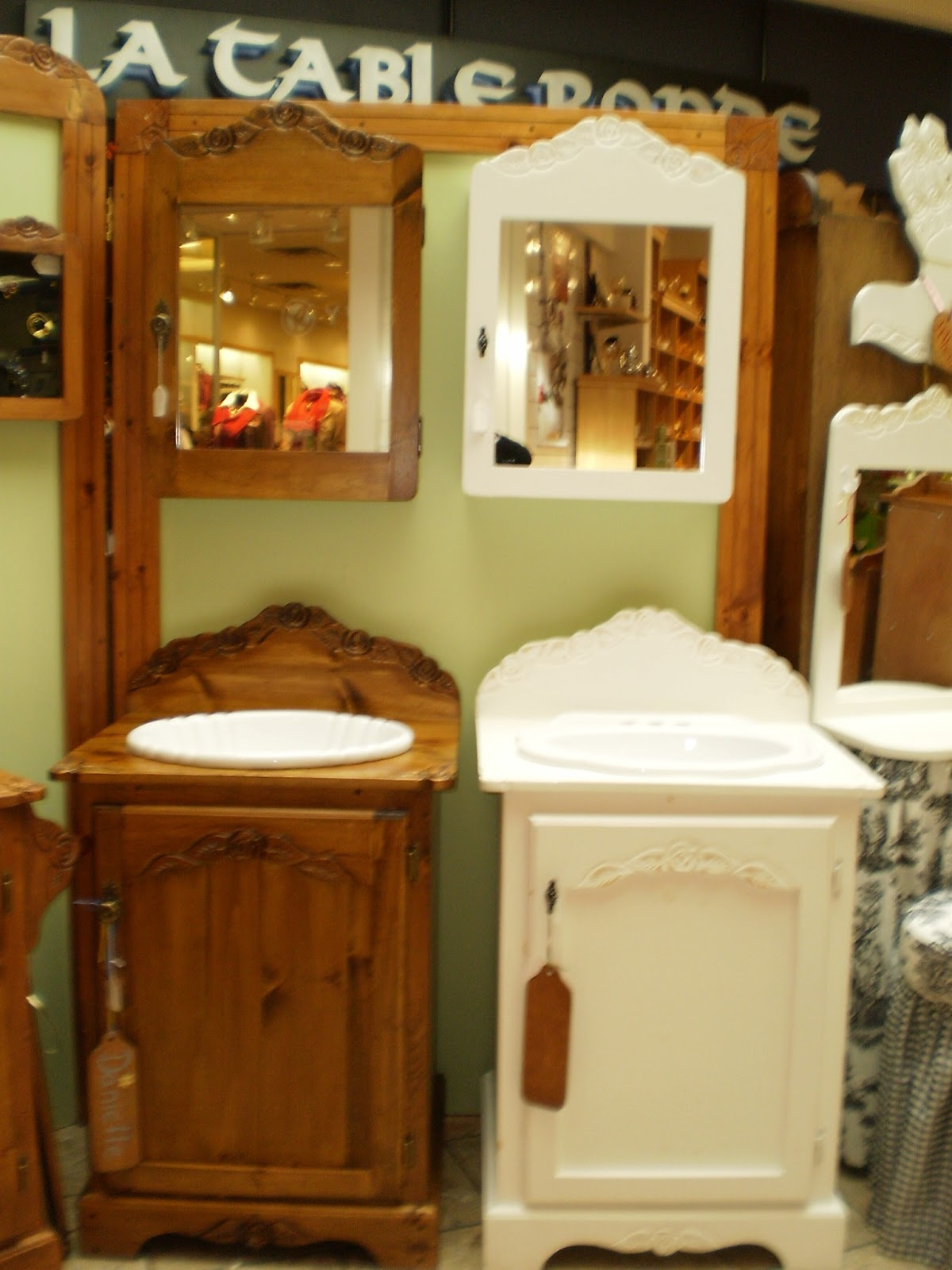 Eugenie S Woodworking Blog Small Bathroom Vanities Or
