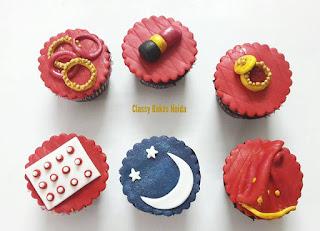 karwachouth cupcakes