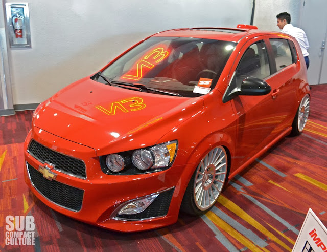Sweet Chevrolet Sonic RS