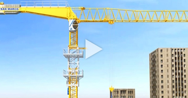 Watch how Construction Tower Cranes grow