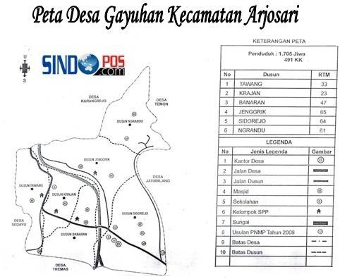 Profil Desa & Kelurahan, Desa Gayuhan Kecamatan Arjosari Kabupaten Pacitan