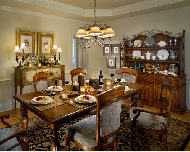 Traditional Dining Room Design Ideas - Simple Home ...