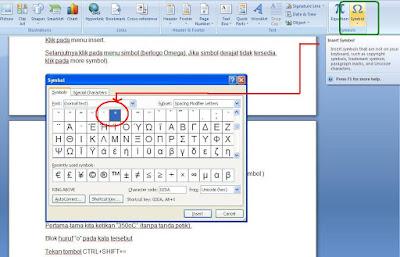 Cara menulis simbol derajat di Microsoft word 4 Cara Bikin Simbol Derajat di Microsoft Word
