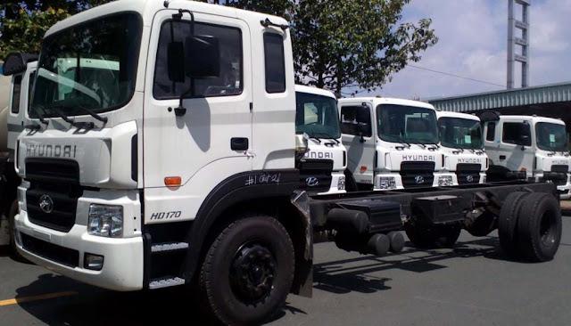 Xe tải hyundai 8 tấn HD170