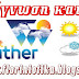 FORECAST WEATHER : Μακροπρόθεσμη εκτίμηση καιρού από 15-12-2017 έως και 31-12-2017.