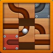 Download Game Roll the Ball - Slide Puzzle MOD APK Full Version v1.7.0
