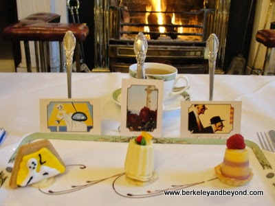 art pastries at Art Tea at The Merrion Hotel in Dublin, Ireland