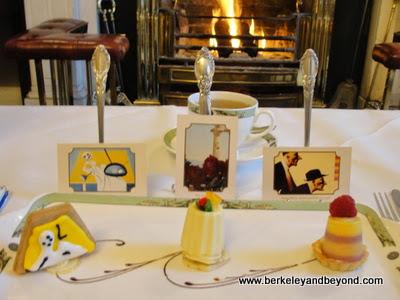 art pastries at Art Tea at The Merrion Hotel in Dublin, Ireland