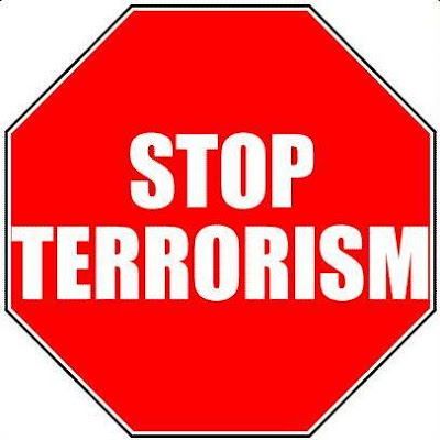 Put an end to terrorism, but not 'terrorists'.