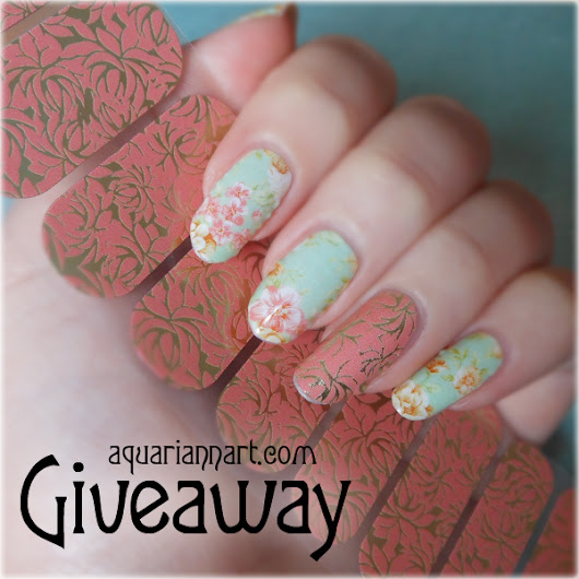 Jamberry Giveaway: Love Fern Nail Art