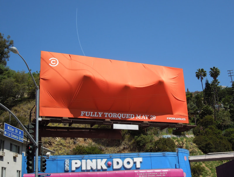 Workaholics Fully Torqued season 3 special installation billboard