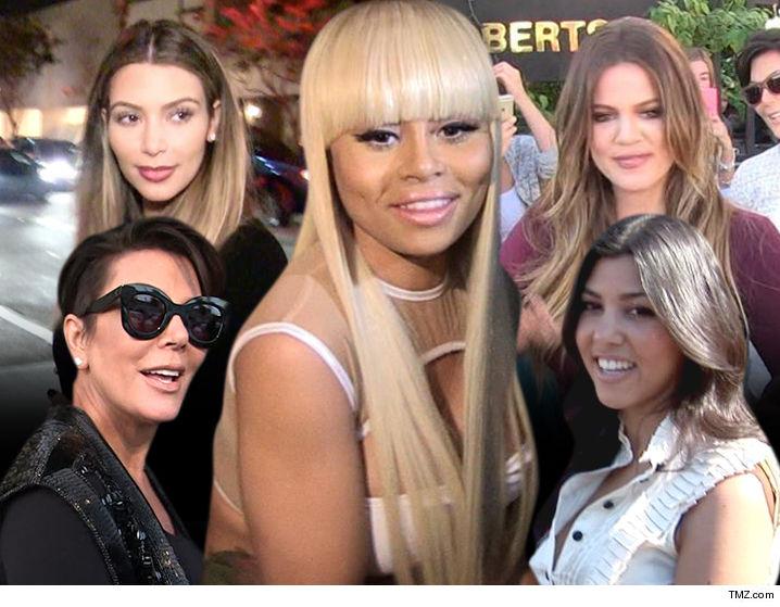 Blac Chyna Is Suing Entire Kardashian Family