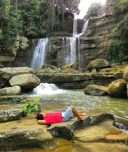 foto pemandangan di coban nirwana malang