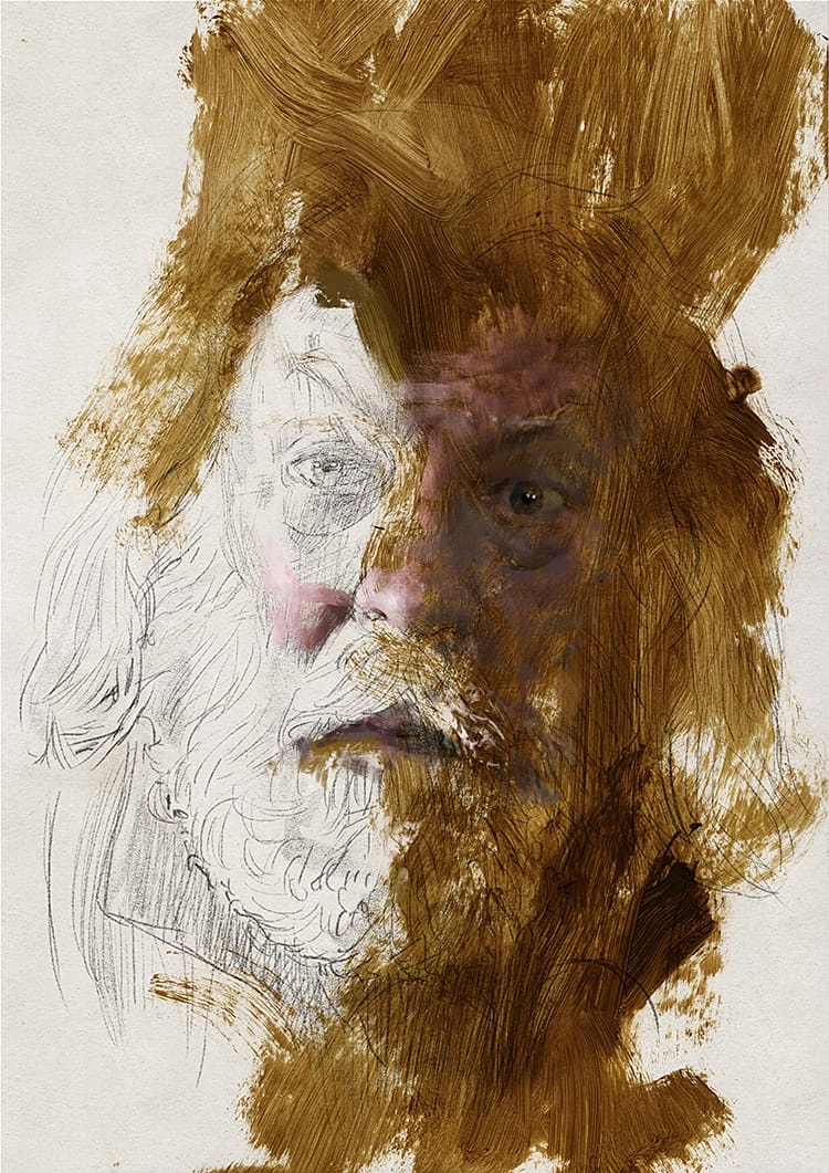 Portrait 250 Donald Sutherland