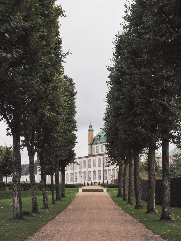 Palais royal de Fredensborg au Danemark