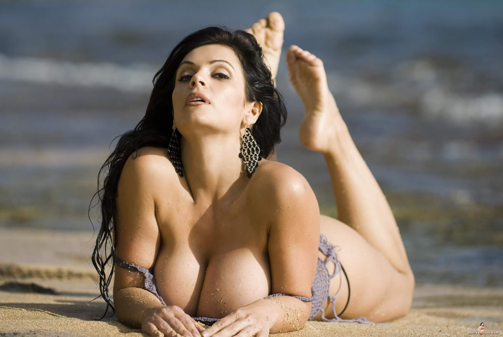 Busty Denise Milani Screwed In The Asshole