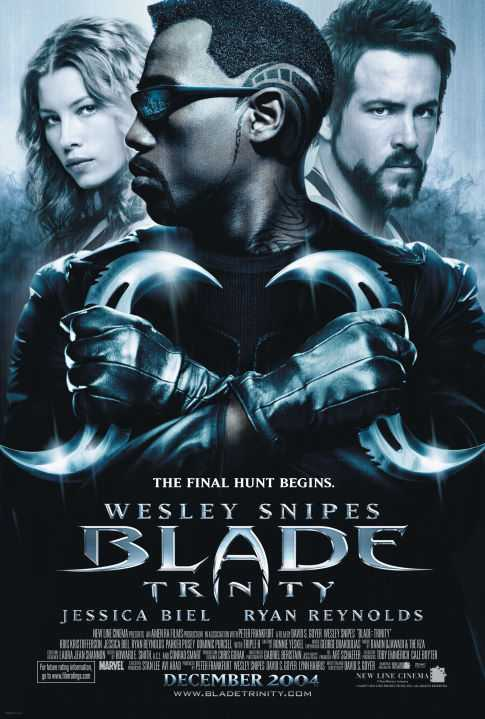 Poster Blade: Trinity 2004 Dual Audio HD 720p