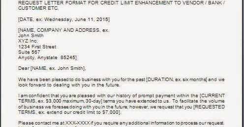 request credit limit increase