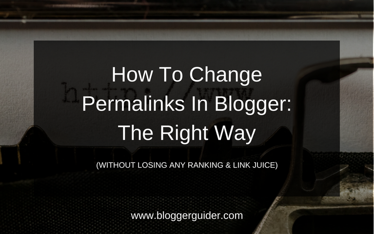Change blog posts permalink