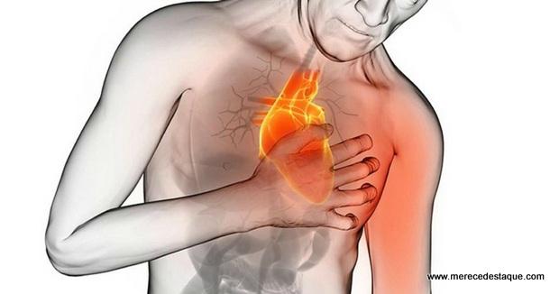 Um mês antes de um ataque cardíaco, o corpo avisa com 6 sinais, conheça-os