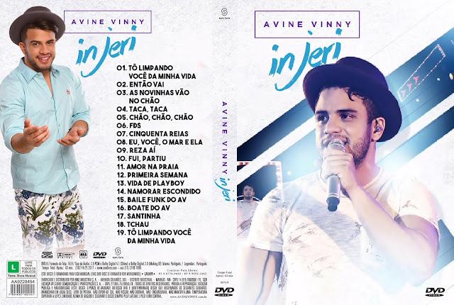 Capa DVD Avine Vinny in Jeri