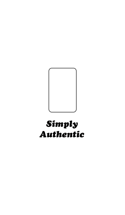 Simply Authentic Tablet PC White-Black