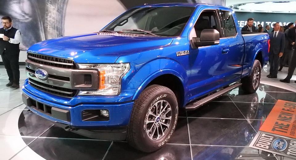Detroit Auto Show: 2018 Ford F-150