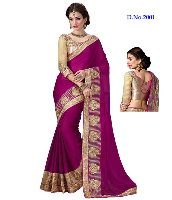 Angel Vol 2 – Designer Saree With Fancy Lace