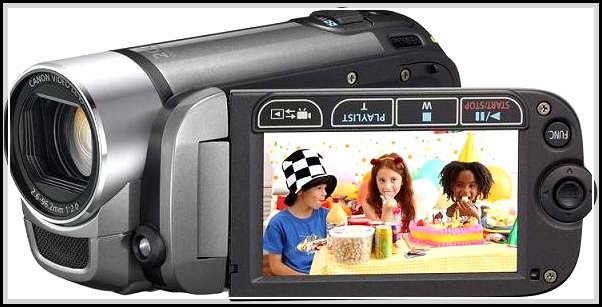 foto handycam canon
