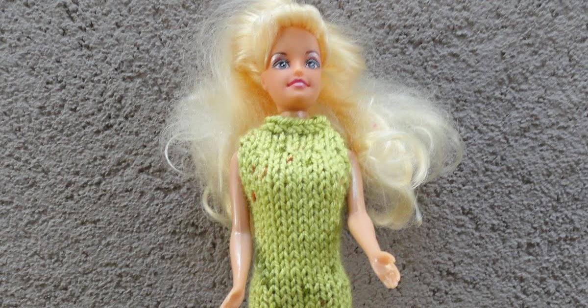 9f814cc1e7 Csak ülök, de nem csak kötök: Barbie ruhák leírással