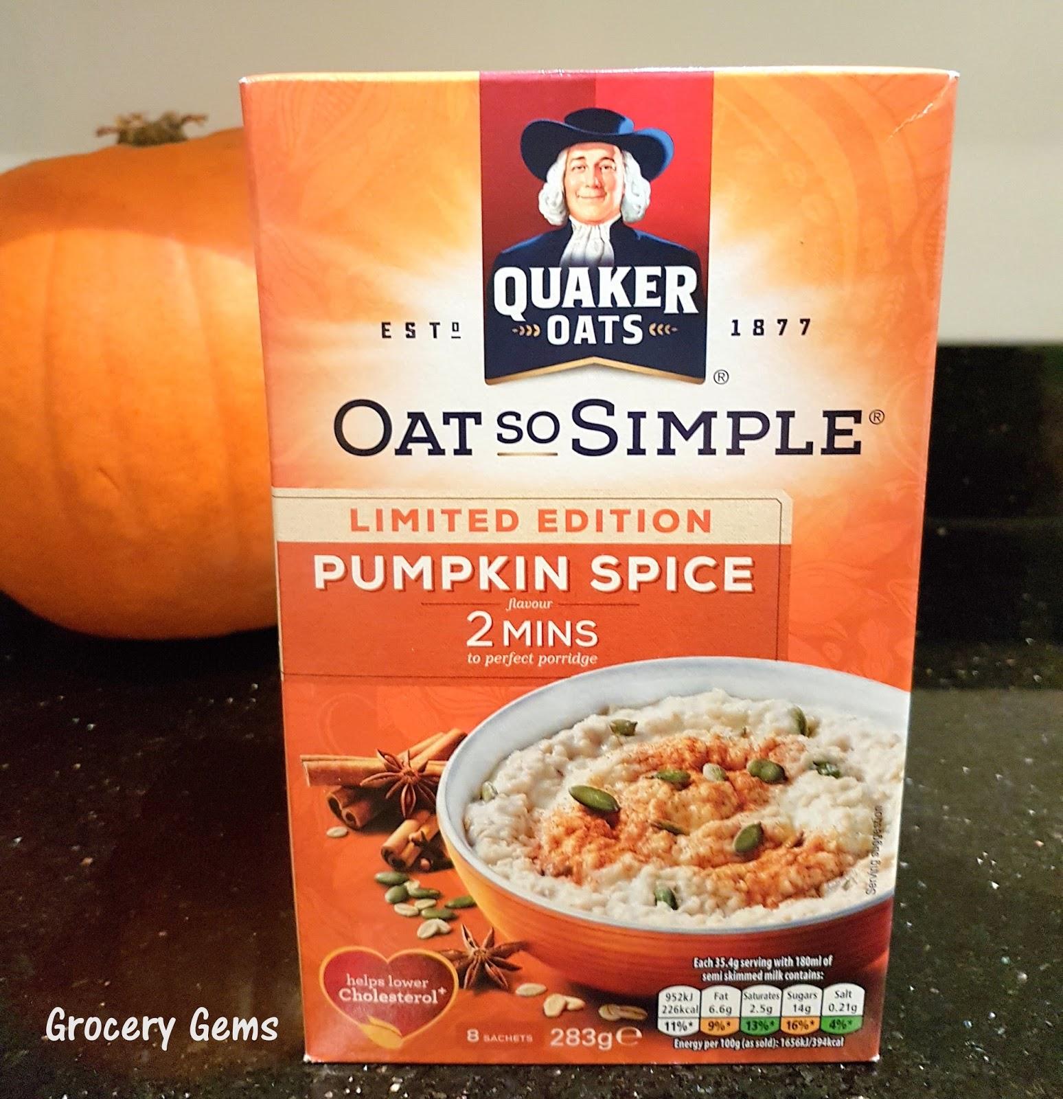 Pumpkin spice uk