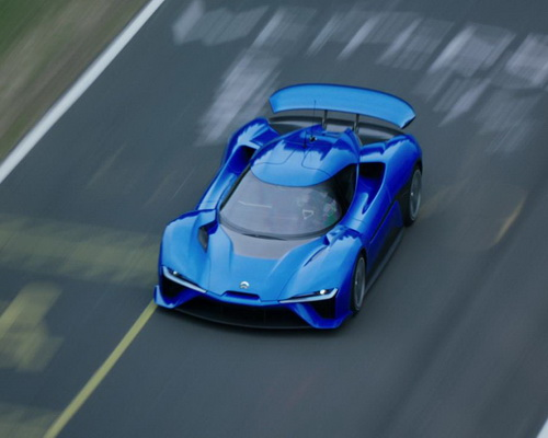 www.Tinuku.com Chinese electric car startup showcased NextEV NIO EP9 as the world's fastest electric powered supercar