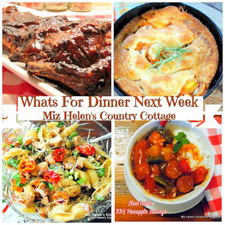 Whats For Dinner Next Week * Week of 8-12-18