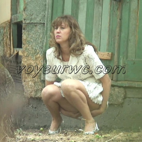 PissHunters 6100-6199 (Girls pissing outdoors on the hidden camera. Spy camera pissing clips from a public toilet)