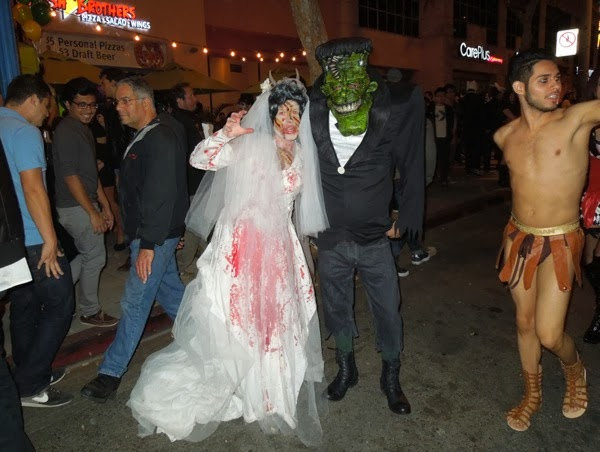 Frankenstein Monster West Hollywood Halloween 2013