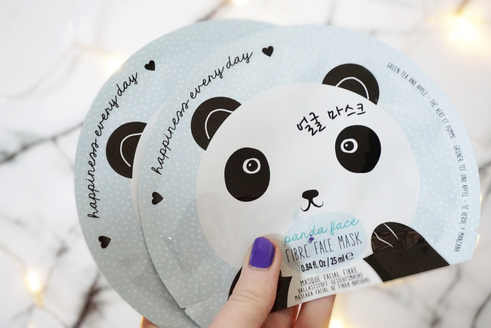Oh K! Panda Sheet Masks