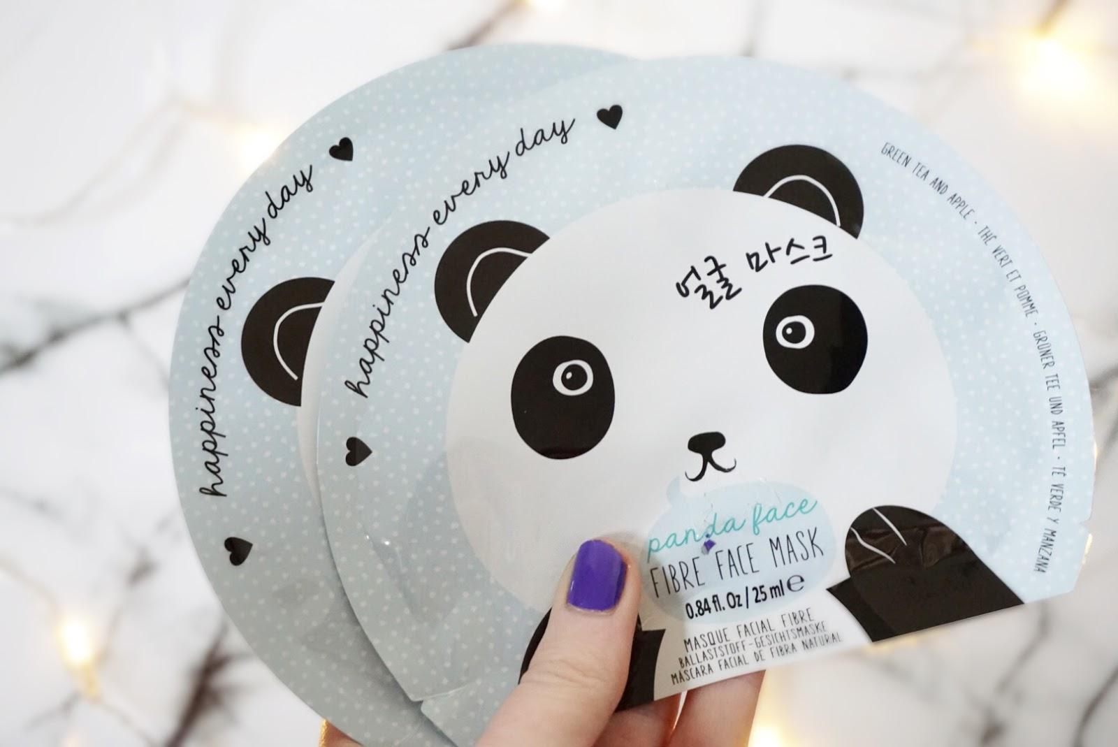 Oh K! Panda Sheet Masks