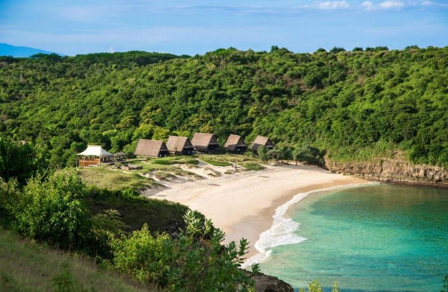 Gambar Hotel Dekat Pantai Pink Lombok Jeeva Bloam Camp Langsung Menghadap Pemandangan Alam