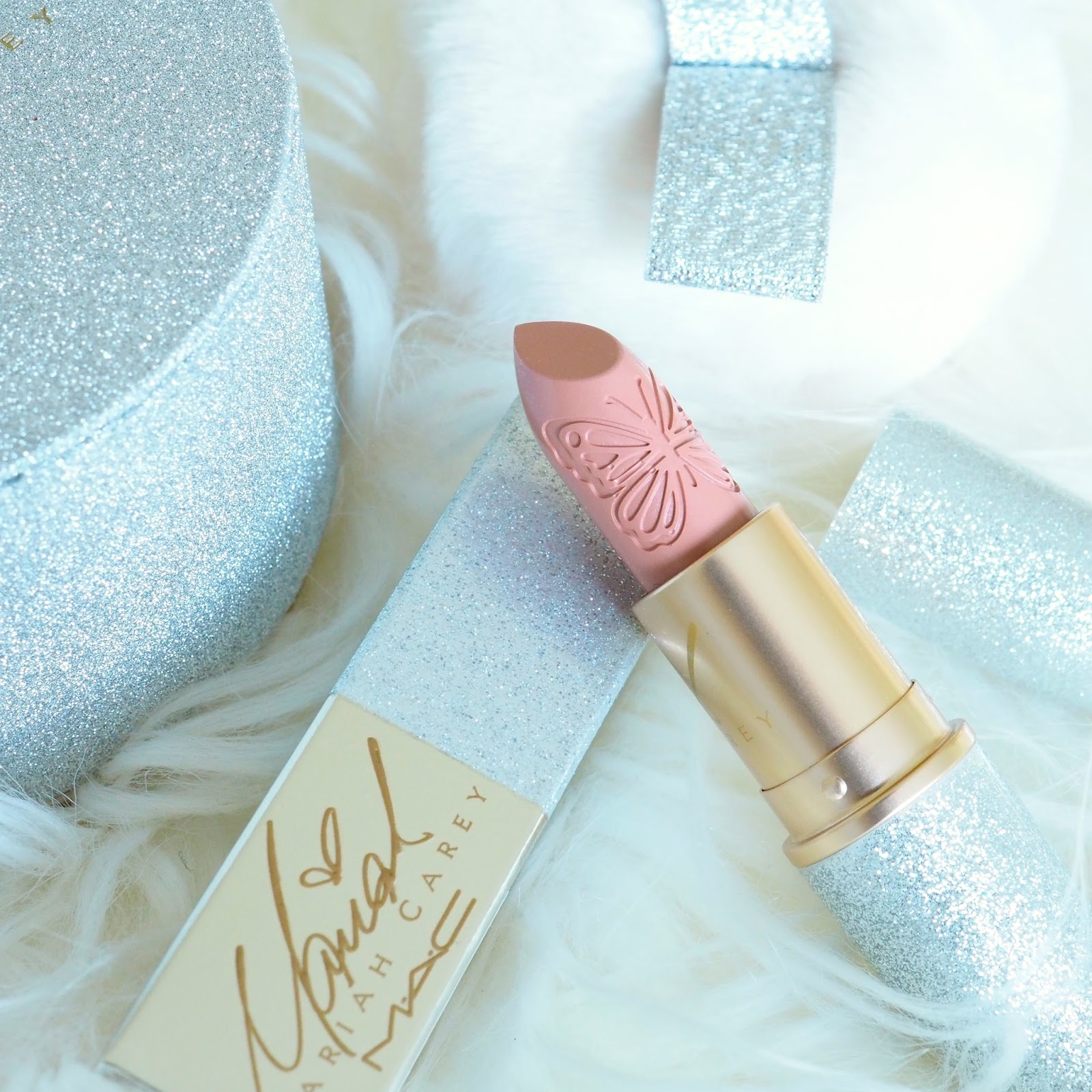 MAC Mariah Carey MCizzle Lipstick & Touch My Body Powder Review & Swatches