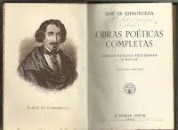 José Espronceda, amor y poesía, Ancile