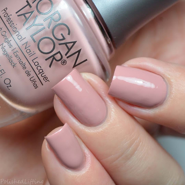 dusty rose creme nail polish