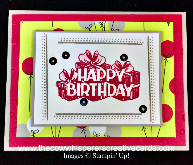 Card, Big Wishes, Swirly Frames, Clean & Simple