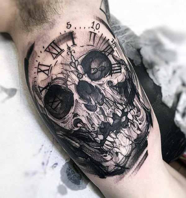 100 Simple Skull Tattoos Ideas 2019 Old School Images Pictures
