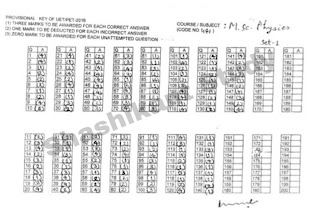 bhu-m.sc-physics-answer-key-2016